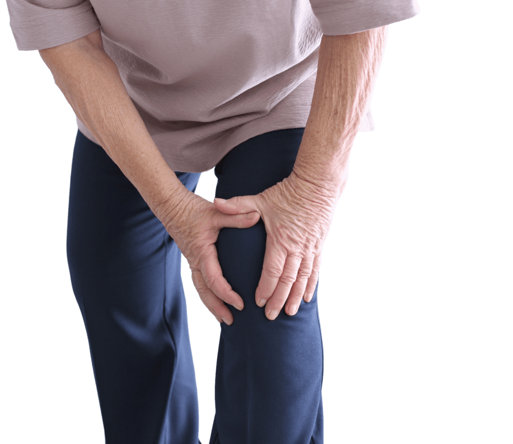 Elderly Woman Leg Pain