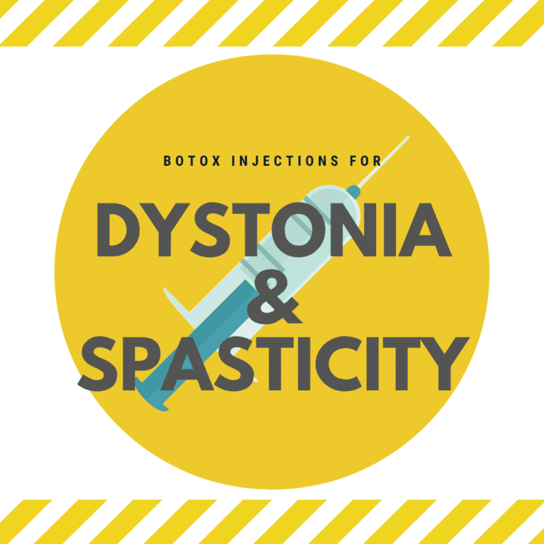 Botox Injections for dystonia and spasticity