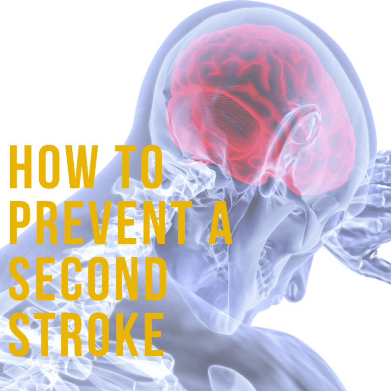 How to Prevent a Second Stroke