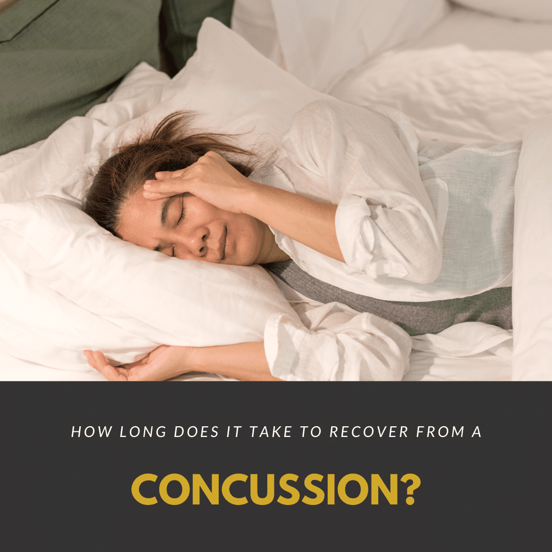 How long Does it Take to recover from a concussion