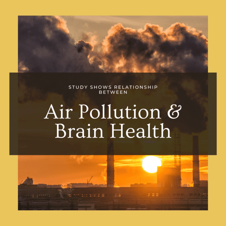 Study Shows Relationship Between air pollution and brain health