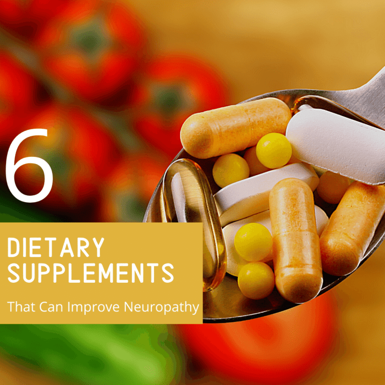 6 dietary supplements that can improve neuropathy (1)