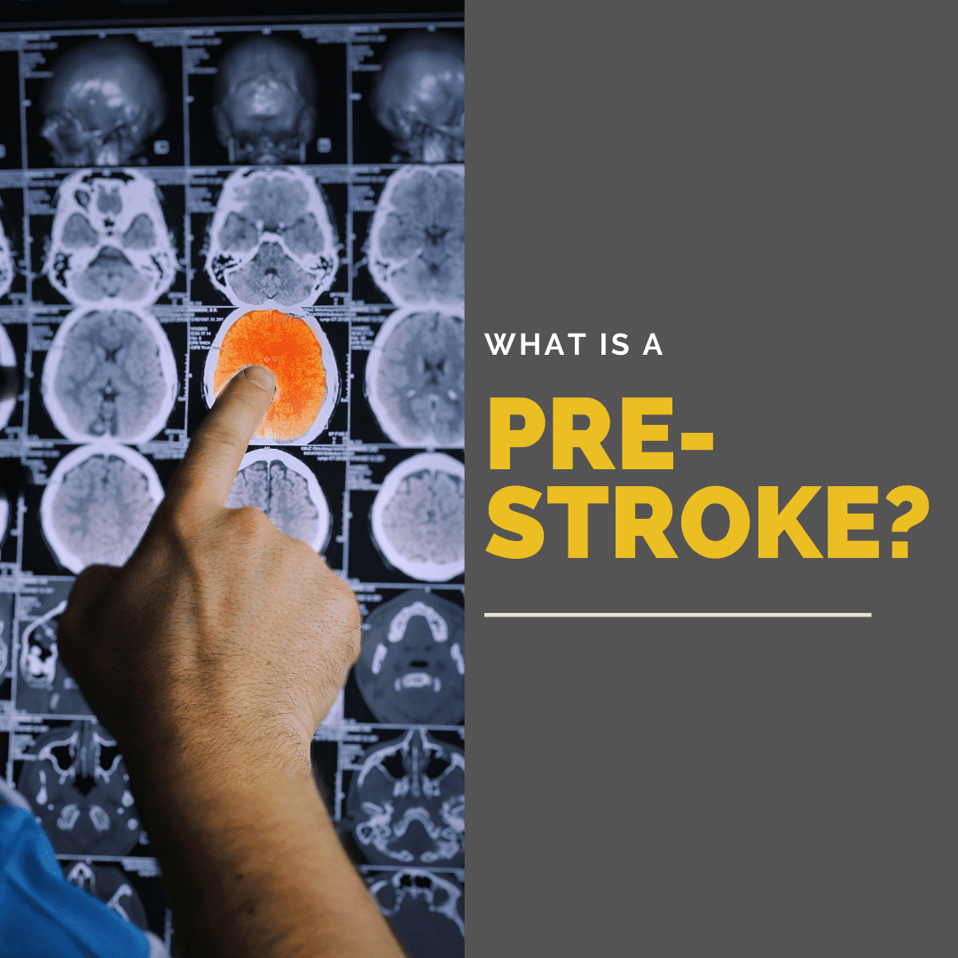 What is a pre stroke